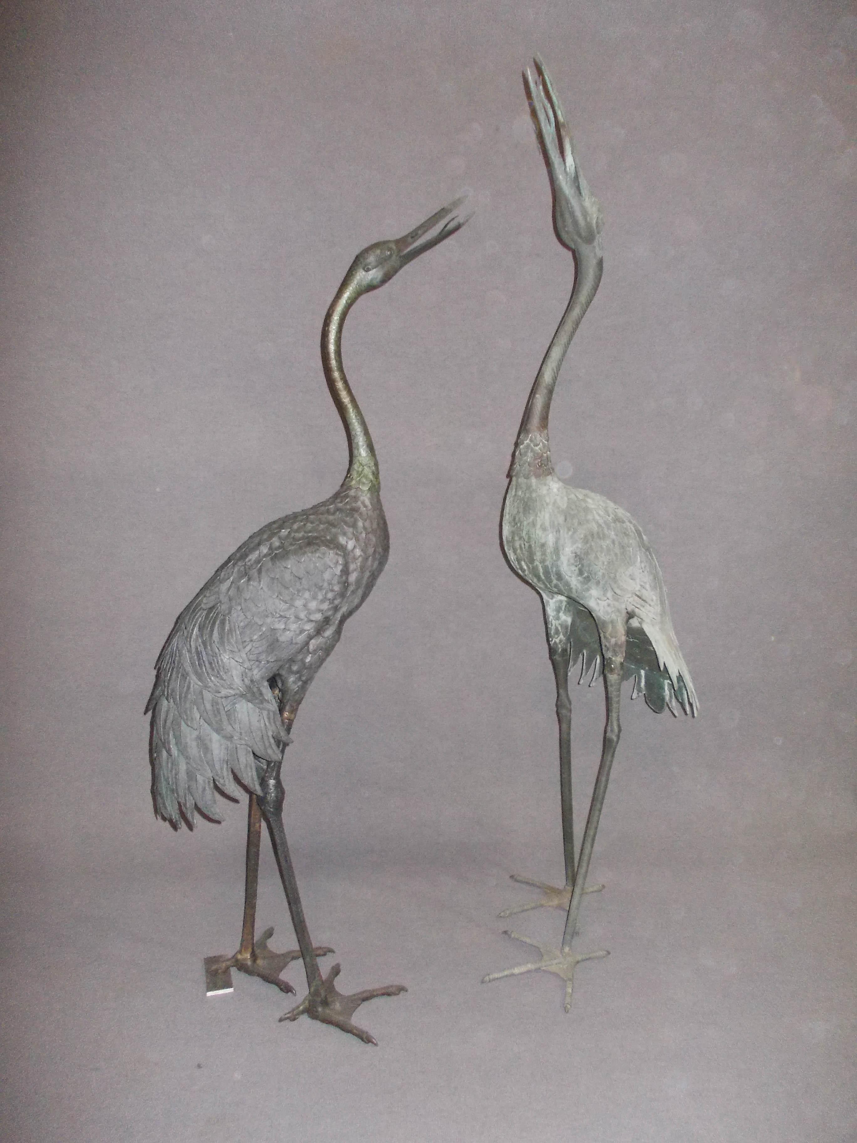Heron garden ornament - Click To Enlarge