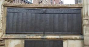 Oldham War Memorial – Plaques